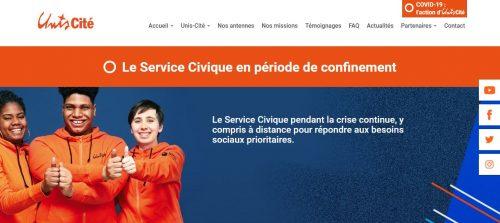 Suivez les actions d'Unis-Cité pendant la crise sur la page spéciale « Service Civique vs COVID-19 » de son site
