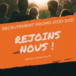 La campagne de recrutement 2020-2021 est lancée : séances d'info à distance Cœur et KIOSC !