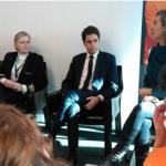 20/12/2018 Tours : le secrétaire d'Etat Gabriel Attal rencontre des jeunes en service civique