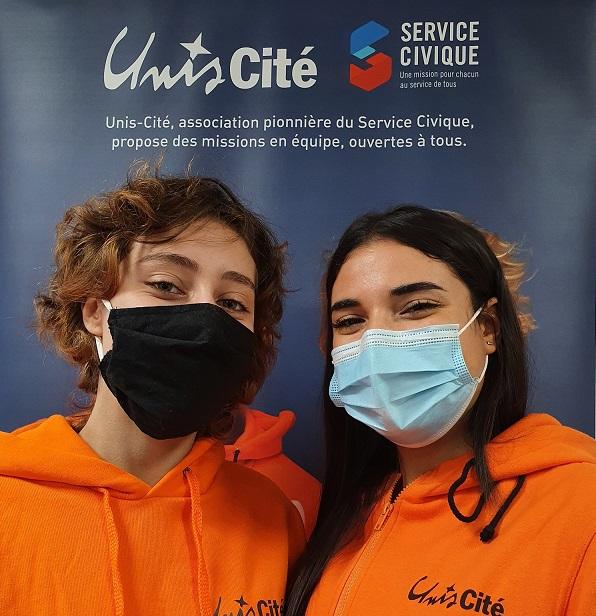 Rencontrez les nouvelles ambassadrices d'Unis-Cité : Clémentine et Farah !