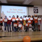 Clap de fin pour les 170 volontaires d'Unis-Cité Gironde promotion 20-21 !
